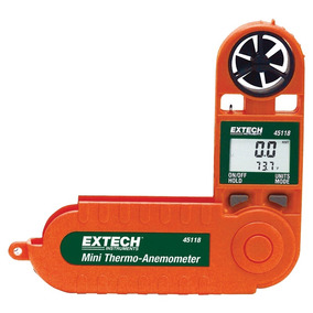 Anemômetro Digital Mini 2-100km/h -18+50°c