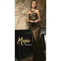 Vestido Largo Corte De Sirena Sexy Formal Para Fiestas Moda