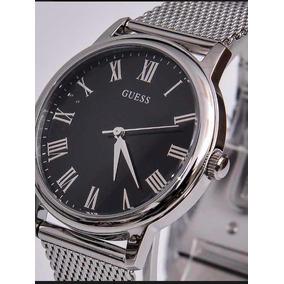 Reloj Guess C/correa De Maya Plata
