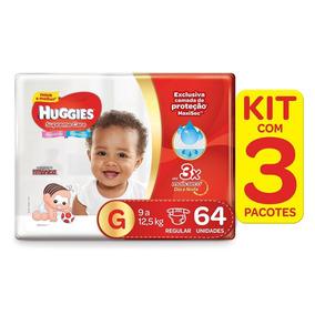 Kit De Fraldas Huggies Supreme Care G - 192 Fraldas
