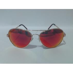Óculos Triton A2393 - Dourado - Espelhado - 12x Sem Juros