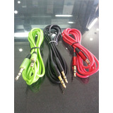 Cable Auxiliar 3.5 A 3.5 1.5mt Ipod Iphone Telefono Tablet