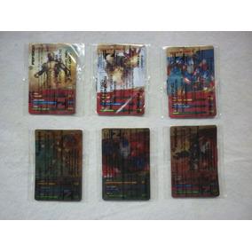 Lote 6 Cards Homem De Ferro 3 - Elma Chips / 2013 + Brinde