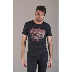 Remera De Hombre Manga Corta The Wall Soho Denim