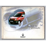 Manual Do Proprietario Renault Kangoo - 2000 - 2001