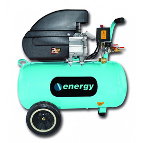 Compresor Energy 40l Con Aceite / Baja Presión