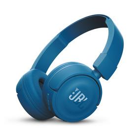 Audifonos Jbl T450 Bluetooth - Azul + 1 Año Garantia