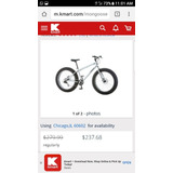Bicicleta Mongoose Fat Tires Malus Llanta Gorda
