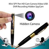 Boligrafo Espia Camara Video Oculta Grabadora Usb Micro Sd