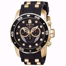 Lindo Relogio Invicta 6981 Pro Diver Promoção Black Gold Top