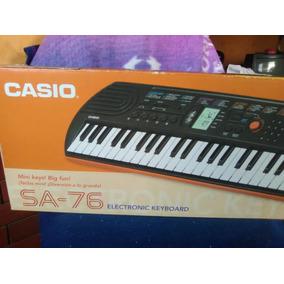 Organo Teclado Casio Sa76