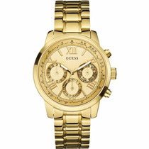 Reloj Guess Dorado W0330l1 -- Tienda Relojeando