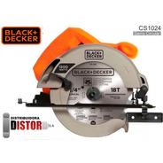 Sierra Circular 1500w Black & Decker Cs1024 + Accesorios