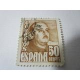 Correos España 50 Cents Estampilla Antigua L33
