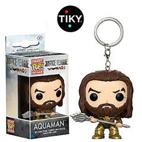 Funko Pop Aquaman Keychain Llavero De Pelicula