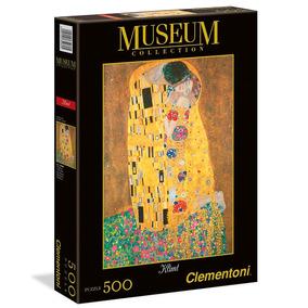 Puzzle Clementoni 500 Pzas The Kiss El Beso