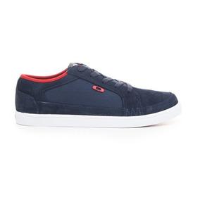 Zapatos Oakley Westcliff Azul Marino/rojo