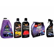 Set Lavado Abrillantado Protección Pintura Premium Meguiar´s