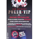 Libro Poker Vip De Jan Meinert