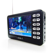 Mini Tv Digital Portatil Tela 4.3 Polegadas Usb Micro Sd E91