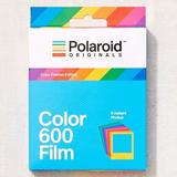 Cartucho Polaroid 600 Color Frames Ed. Especial Instantaneas