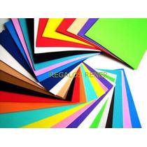 100 Planchas De Goma Eva. De 1ra Todos Los Colores A Elegir