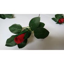 Botão De Rosa Em Eva. Flor Decoração. Casamento, Aniversário
