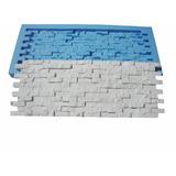 Forma Placa Gesso Mini-filete Pedra Canjiquinha