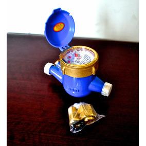 Medidor De Agua De 1/2 En Bronce