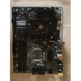 Msi Placa Madre Gaming Pro Z170a Pc Mate