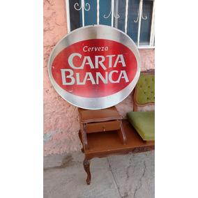 Anuncio Carta Blanca Lamina Antiguo Publicidad No Coca