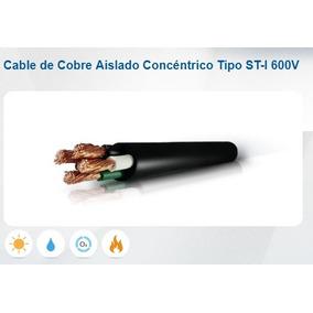 Cable Concentrico 3x6 Incable