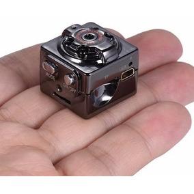 Mini Câmera Espiã Visão Noturna Sq8 Full Hd 1080p Promoção