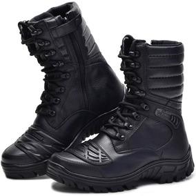 Coturno Militar Bota Bmbrasil Bmbrasil Tático Zíper 5188