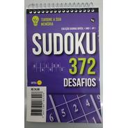 Sudoku Difícil 372 Desafios - Turbine Sua Memória