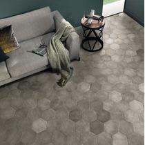 Hexágono · Simil Mosaico Calcareo · (piso -pared)