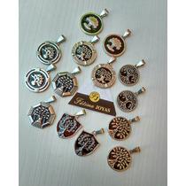 Dijes Medallas Arbol De La Vida X 10 Unidades Acero Quirúrgi