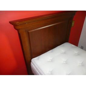 Cama Box Solt. C/ Colchão Sonhare E Cabeceira Drexel- Usado