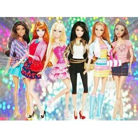 Coleção 06 Bonecas Barbie Life In The Dreamhouse Articuladas