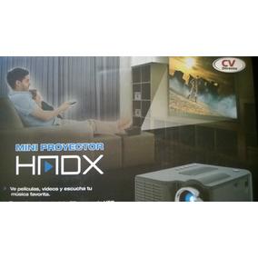 Proyector Led Hmdx 48 Lumens, Imagen Hasta 60¨