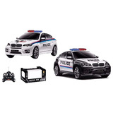 Auto Policia Radiocontrol Bmw X6 (b00031)