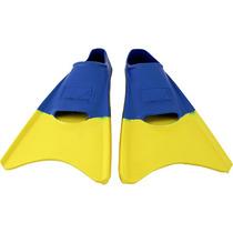 Aleta Aqua Zone Corta Rey/amarillo