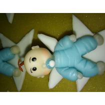 Souvenirs Bebe Bautizmo 1er Añito En Porcelana Fria