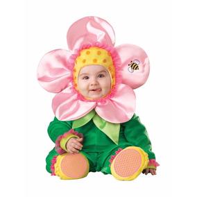 Disfraz De Flor Rosa Bebesm Halloween Niñas Animales Trajes