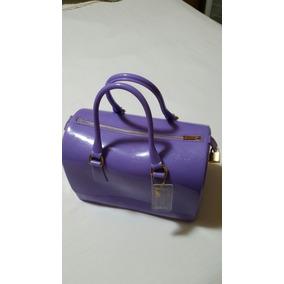Bolsa Furla Candy Bag Lilás