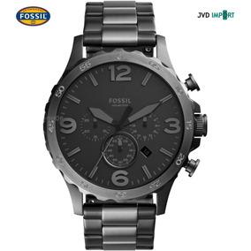 Reloj Fossil Nate Cronógrafo Jr1527 - 100% Nuevo Y Original