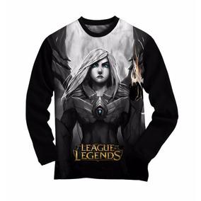 Camiseta Manga Longa League Of Legends Kayle - Grande Plus