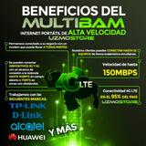 Wifi Internet Portatil Ilimitado Router Linea 4glte