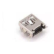 Kit 4un Conector De Carga Jack Mini Usb 5 Pinos ((para Gps))