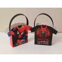 Bolsitas De Papel Personalizadas - Spiderman - Souvenirs